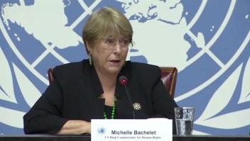 Las frases más fuertes de Bachelet sobre Venezuela