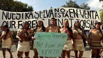 La lucha de los indígenas ecuatorianos por proteger su hogar