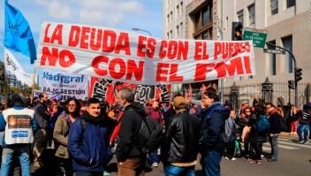 Protestas contra Macri en Buenos Aires