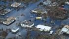 El daño catastrófico empieza a aparecer en Bahamas