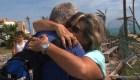 Emotivos testimonios de damnificados por el huracán Dorian