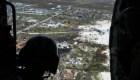 Así son las tareas de los rescatistas en las Bahamas