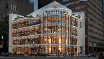 La tienda de Starbucks más grande del mundo