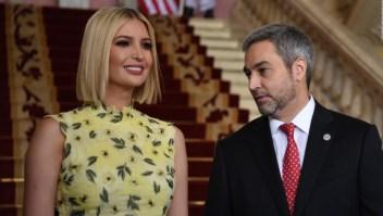 Ivanka Trump visita Paraguay y promete fondos para la mujer
