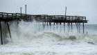 Huracán Dorian toca tierra en Carolina del Norte