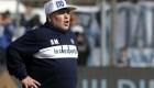 Maradona es presentado como técnico de Gimnasia y Esgrima