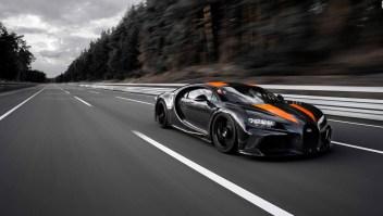¿Sabías que...?  La velocidad del nuevo Bugatti