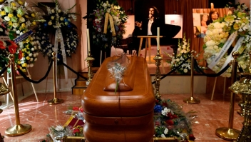 El último adiós a Camilo Sesto