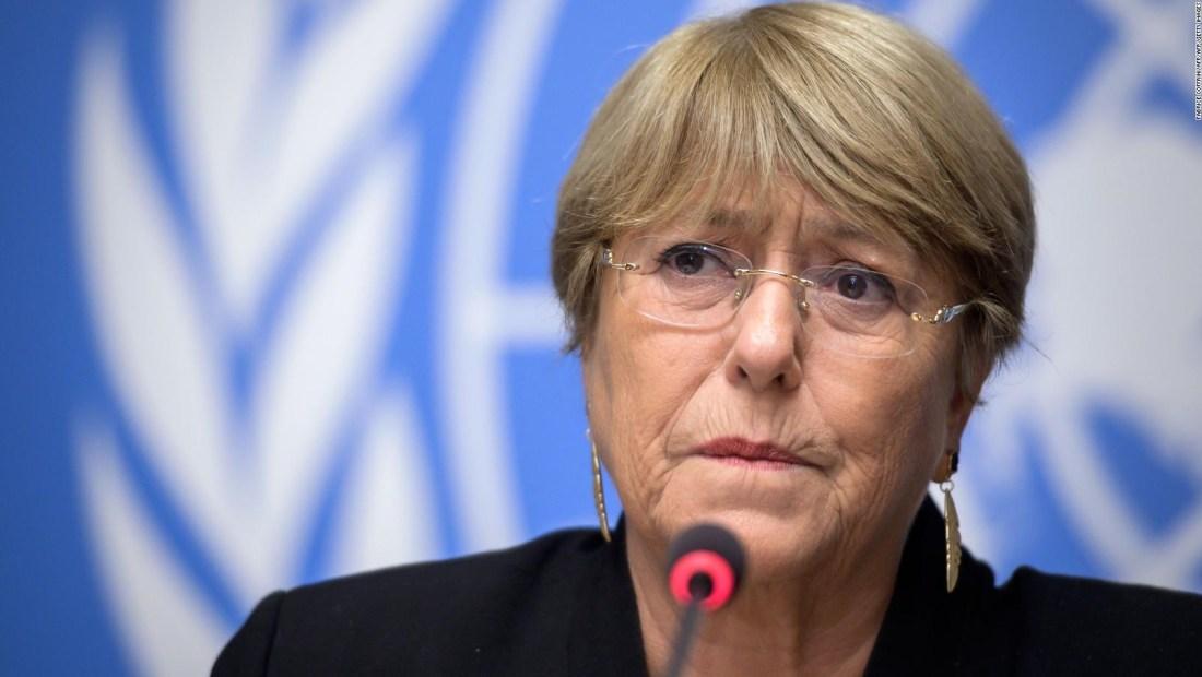 Bachelet denuncia homicidios en Nicaragua