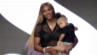 La hija de Serena Williams se roba el show