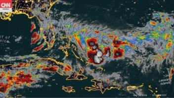 Nueva tormenta se dirige a Bahamas