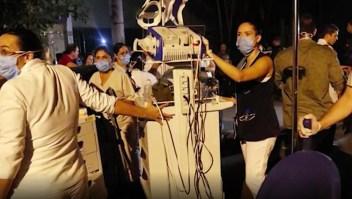 Voraz incendio en hospital de Río de Janeiro deja 11 muertos