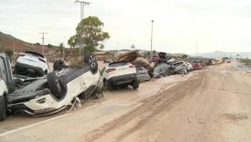 Lluvias torrenciales generan destrozos y caos en España