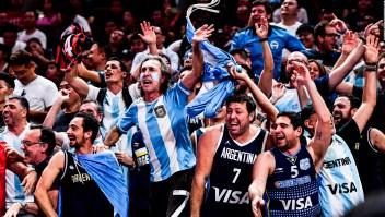 Apoyo incondicional a la selección Argentina de baloncesto