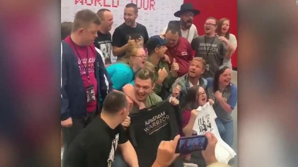 Backstreet Boys sorprenden a jóvenes con síndrome de Down
