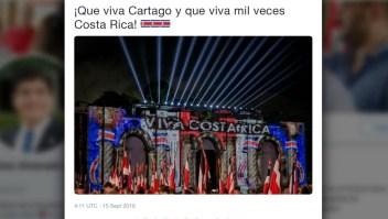 Países centroamericanos celebran sus independencias