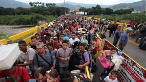 Éxodo de venezolanos ¿qué sucedería si sigue aumentando?