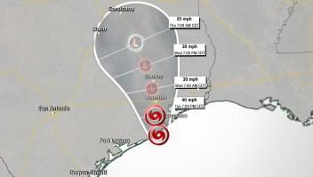 Imelda lleva mucha lluvia a Texas