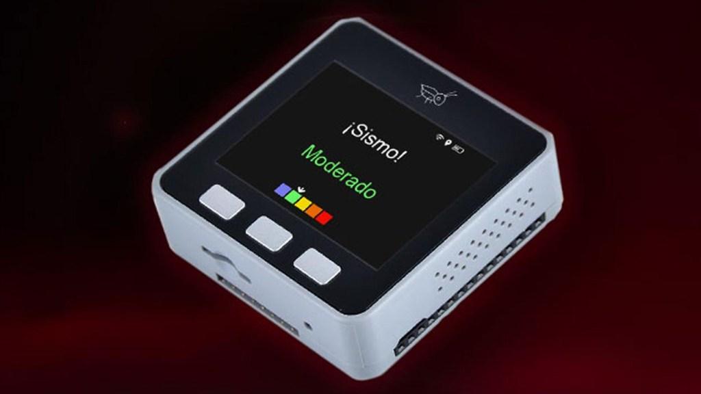 Grillo, el dispositivo inteligente que alerta sobre sismos