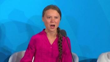 Thunberg crítica a líderes ante la ONU: ¿Cómo se atreven?