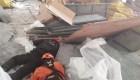 Derrumbe en aeropuerto de Ezeiza deja un muerto