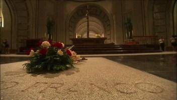 Restos de Francisco Franco serán exhumados