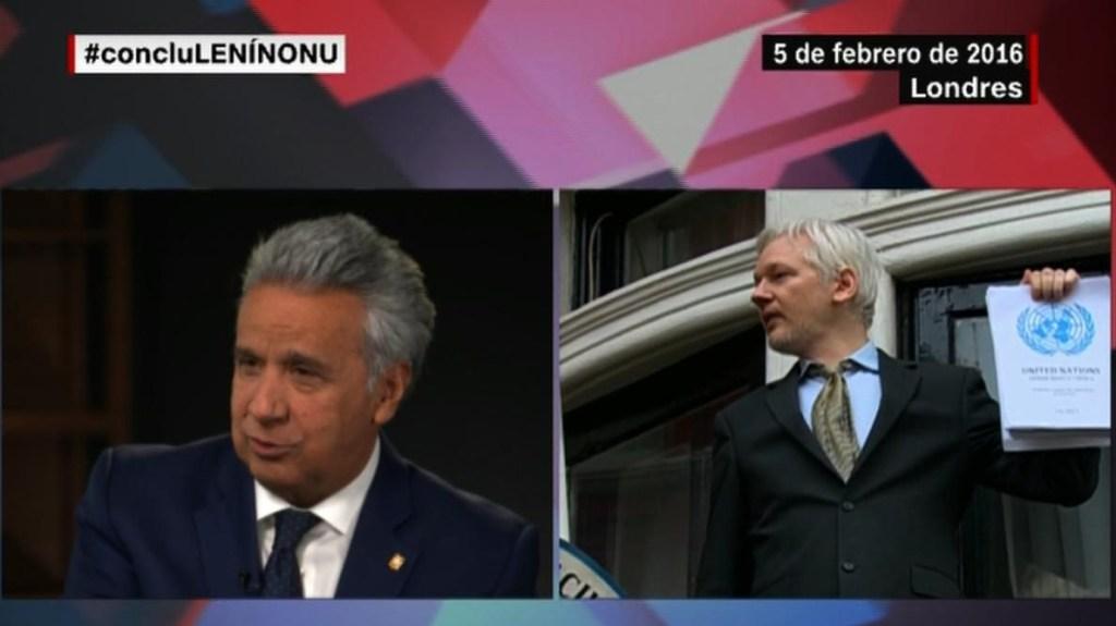 Lenín Moreno habla sobre las pesquisas sobre Ola Bini y el caso Assange