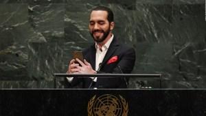 Bukele: el presidente que se toma una selfi en la ONU