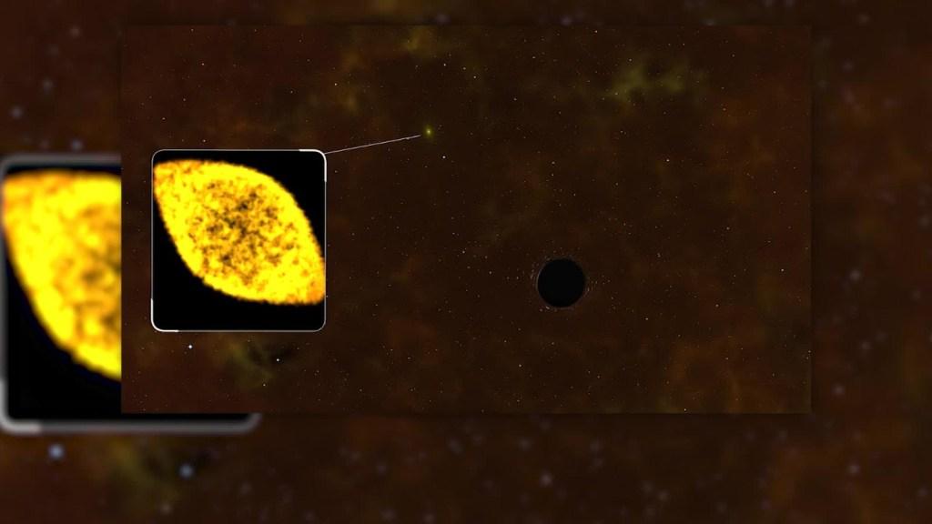Agujero negro destruye Estrella del tamaño del Sol