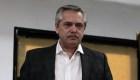 Alberto Fernández, duro contra el FMI