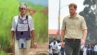Príncipe Enrique visita la ciudad angolana de Huambo
