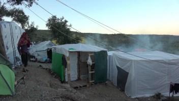 Muertos y heridos en un campo de refugiados de Grecia
