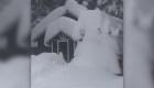 Intensa nevada en Great Falls