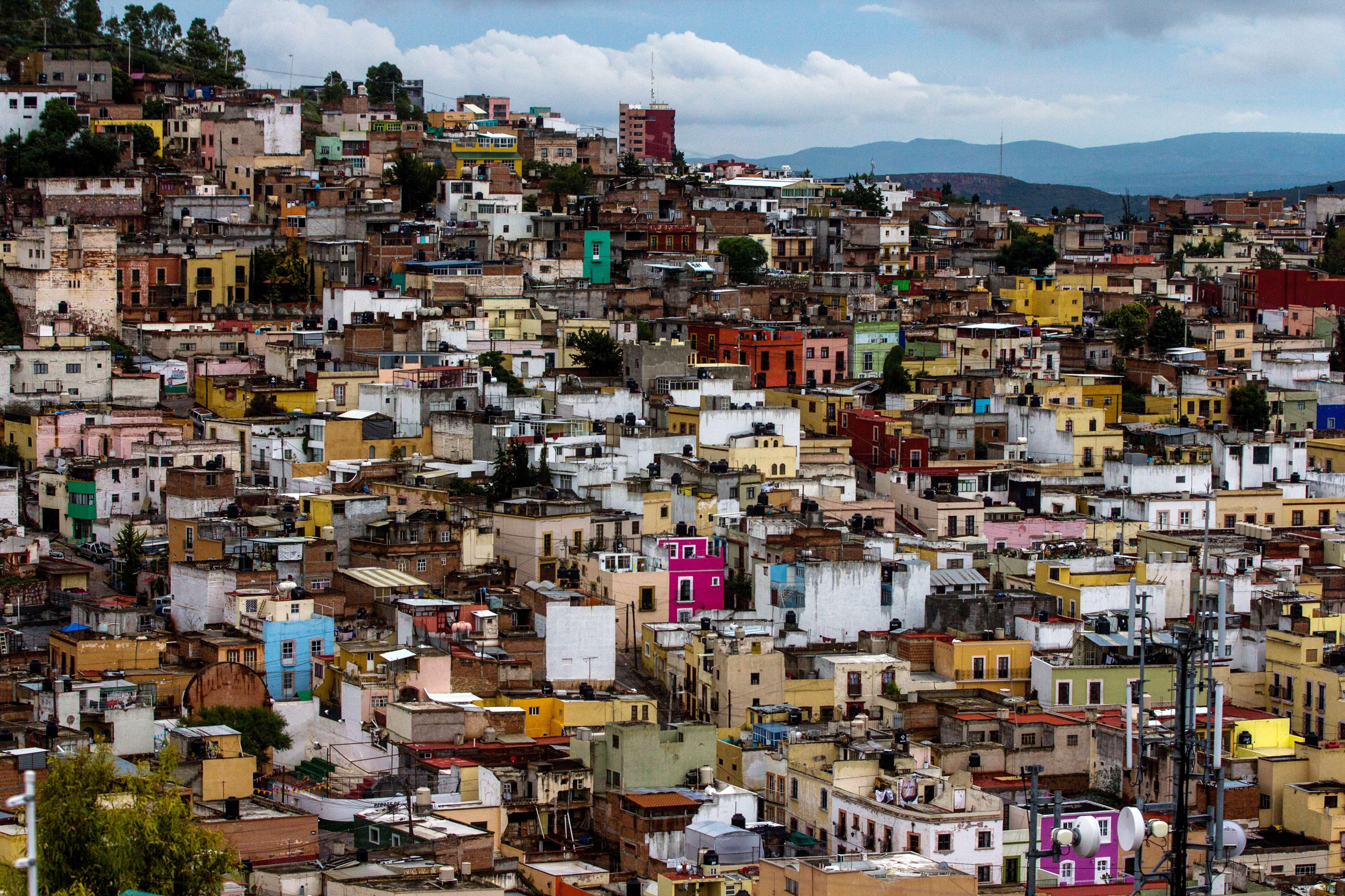 Una postal de la colorida Zacatecas