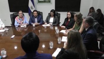 Reunión misión técnica ONU CICIES El Salvador anticorrupción