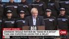 """Boris Johnson: """"Preferiría caer muerto en una zanja"""" que demorar el brexit"""