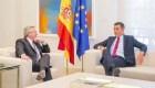 Alberto Fernández se dijo entusiasmado tras reunión con Pedro Sánchez en España