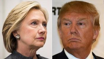 Trump ataca a Hillary Clinton por sus comentarios