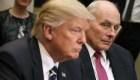 John Kelly criticado por Trump y Grisham