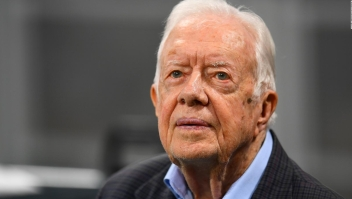 Jimmy Carter se recupera tras su segunda caída