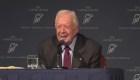 Jimmy Carter sufre caída en su casa