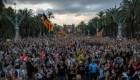 Resurge la tensión en Cataluña