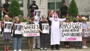 Protestas por la muerte de Jamal Khashoggi