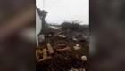 El ciclón Lorenzo destruye las islas Azores