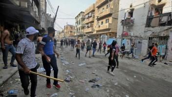 Las violentas protestas en Iraq