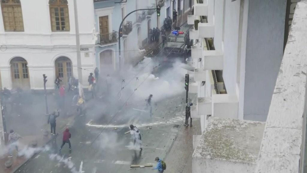 Ecuador: Manifestantes podrían ir a la cárcel por tres años