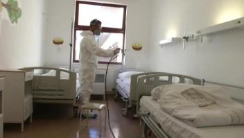 Un nuevo aerosol promete esterilizar hospital en Hungría