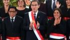 En medio de la crisis, Vizcarra designa gabinete en Perú