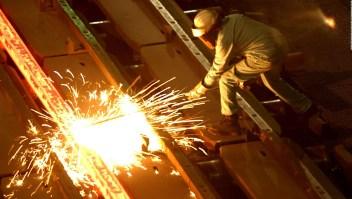 La industria del acero está bajo presión en EE.UU.
