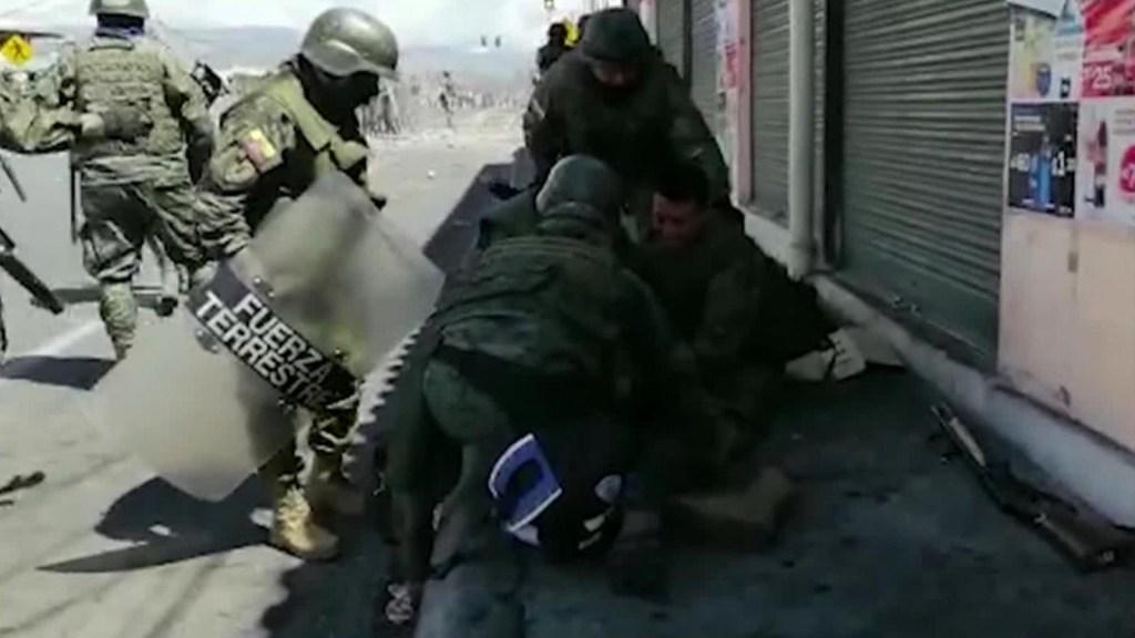 Ecuador bajo protestas y bloqueos
